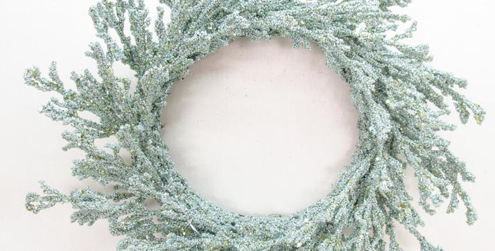 Seafoam Coral Wreath