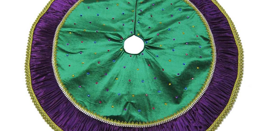 Mardi Gras Tree Skirt