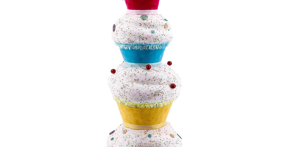 Stacked Cupcake Dessert Tree