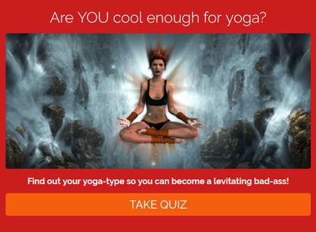 Are YOU cool enough to do yoga? Take this quiz!