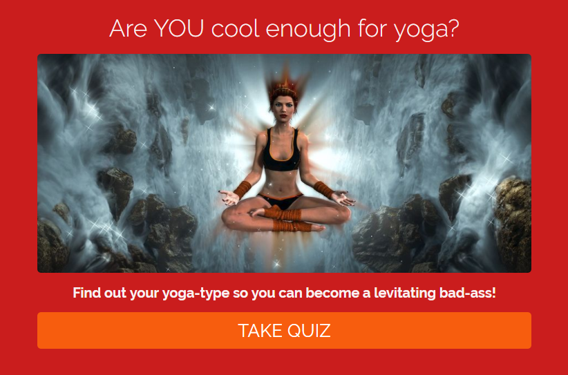 What's your yoga-type? Quiz. Berwick & Borders Yoga
