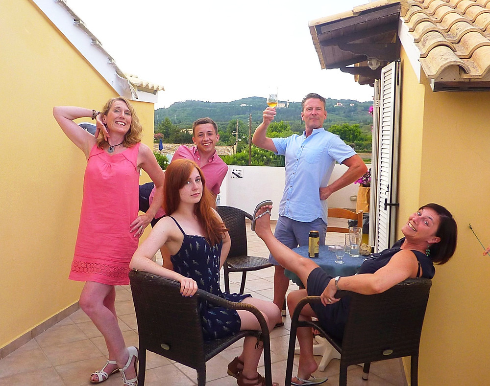 Corfu 2015, The Morrisons & Allens