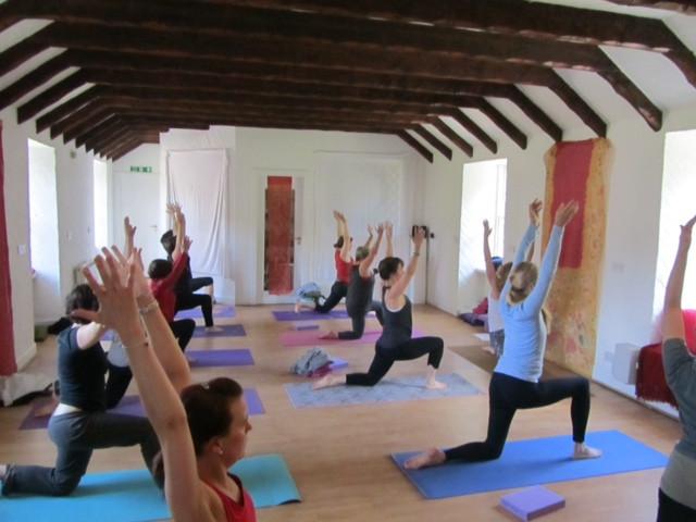 Surya Namsakara C, 2015 Yoga Workshop with Trudy Morrison & Julia Waters
