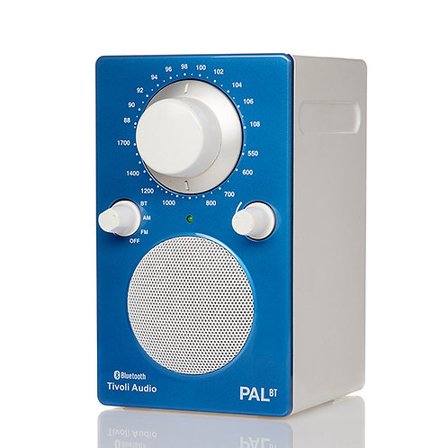 Tivoli Audio - Radio Portatile PAL BT - White Blue