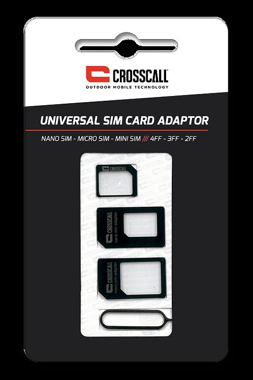 Crosscall - Kit adattatori universali SIM