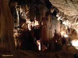 Stalactites et stalagmites