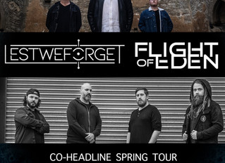 We're heading out on Tour with Flight of Eden in April