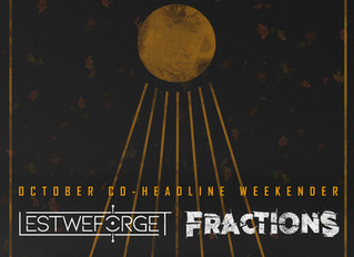 October Co-Headline Dates with Fractions Announced