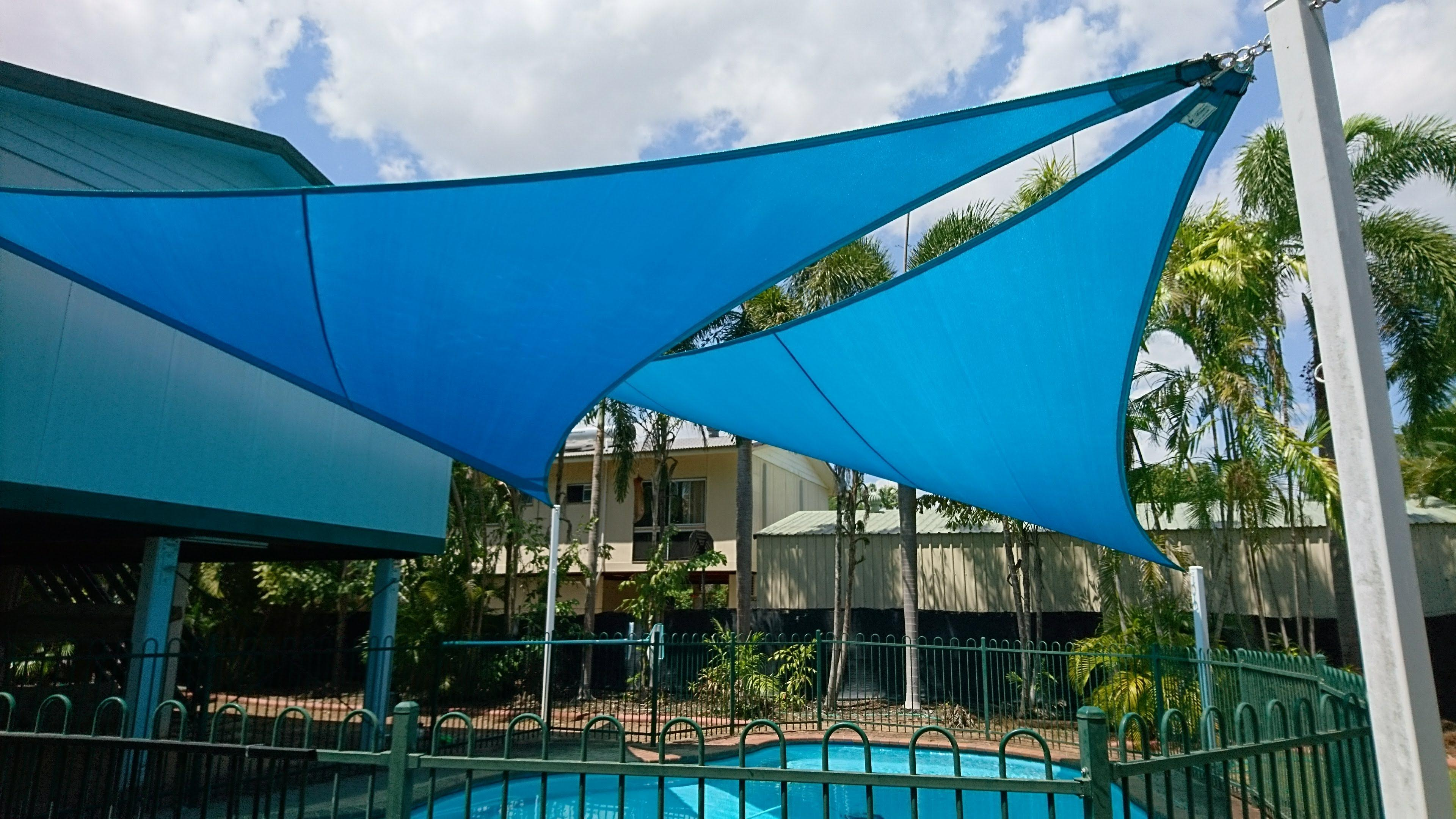 Backyard Pool Sail