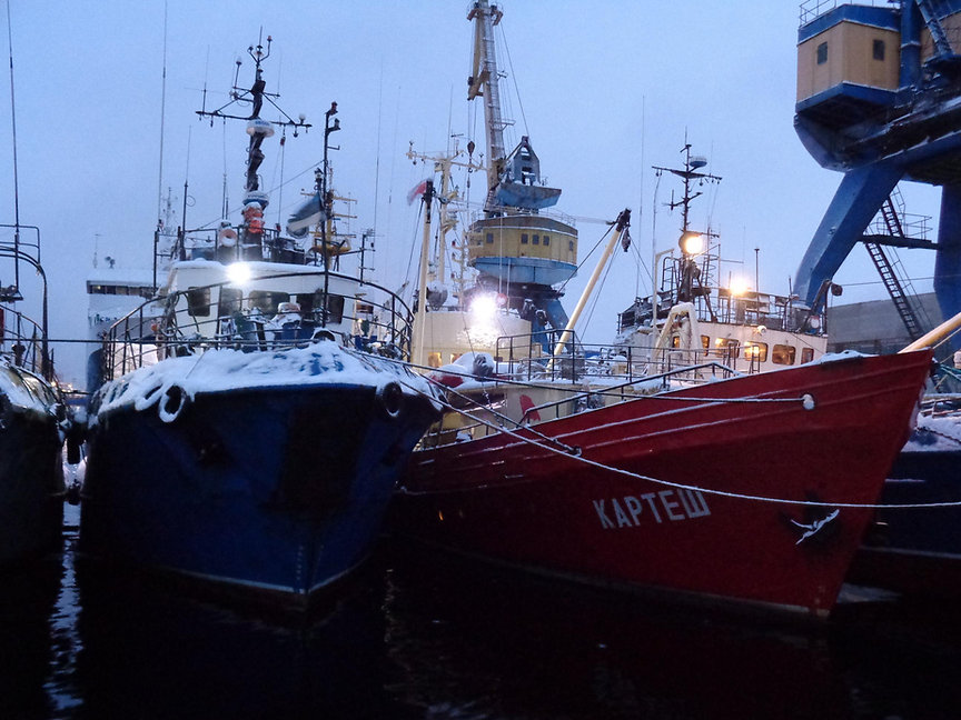 R/V Kartesh in Murmansk
