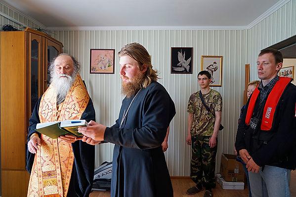 Освящение дома главы поселения Шойна Владимира Семеновича
