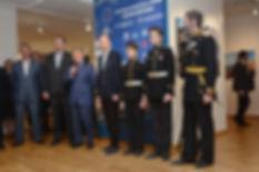 Открытие выставки Россия Морская