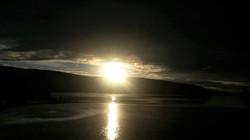 Солнце и луна в Мурманске 1