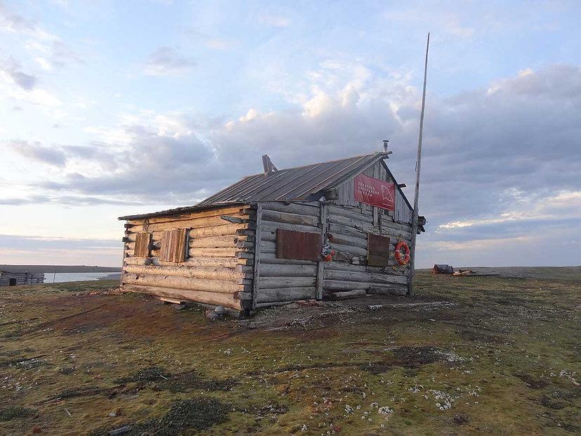 Belaya Cabim, Cape Sakhanin, Novaya Zemlya