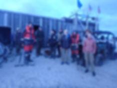 Неожиданная встреча на острове Шокальско