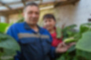 Супруги Губенко на метеостанции Марресале