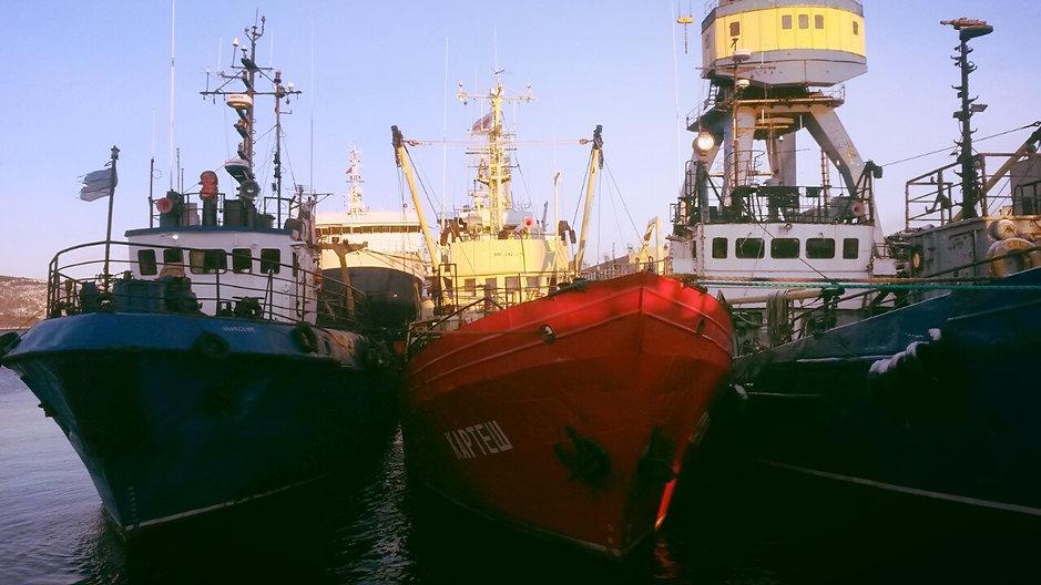 «Картеш» в порту Мурманска