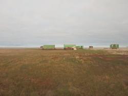 Научная база на острове Шокальского