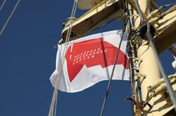 Флаг проекта Полярная экспедиция Кар