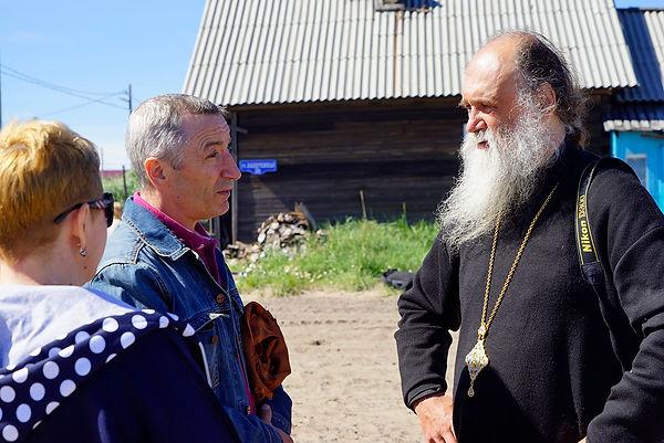 "Полярная экспедиция ""Картеш"" посетила поселок Шойна"