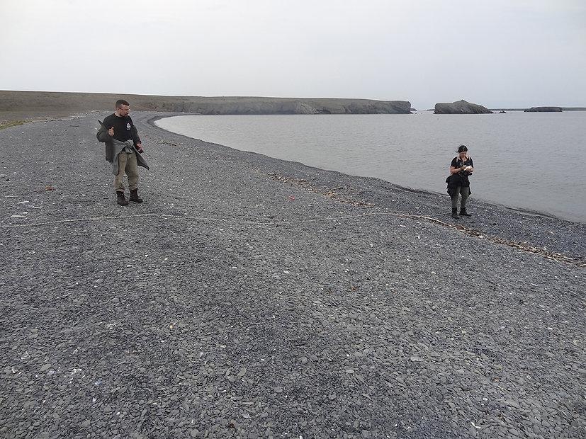 Исслевание береговой линии