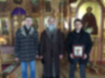 In the Epiphany cathedral of Naryan-Mar