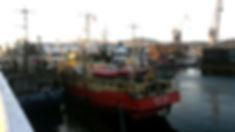 R/V Kartesh docked in Murmansk
