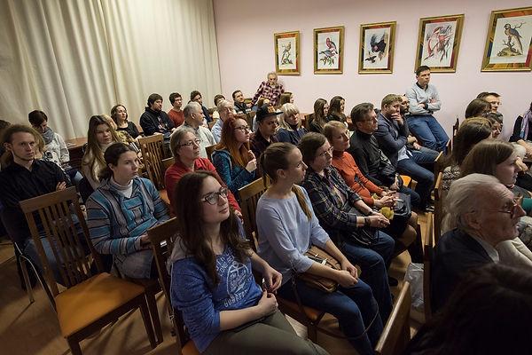 Семинар ЦМИ МГУ в Дарвиновском музее