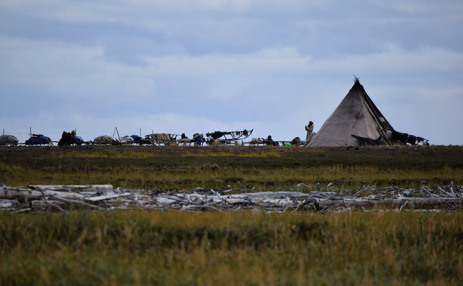 Authentic Nenets tent