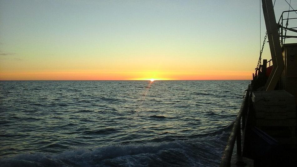 Закат в Арктике