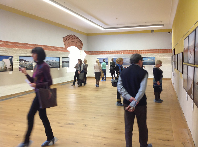 Exhibition opening in Arkhangelsk
