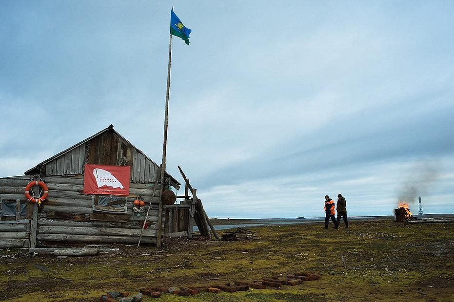 Belaya Cabin, Novaya Zemlya