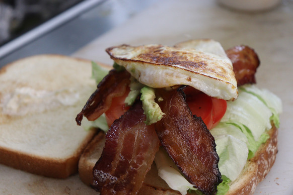 Adult BLT Almost Ready to be Served.JPG