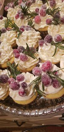 French Vanilla Cupcake