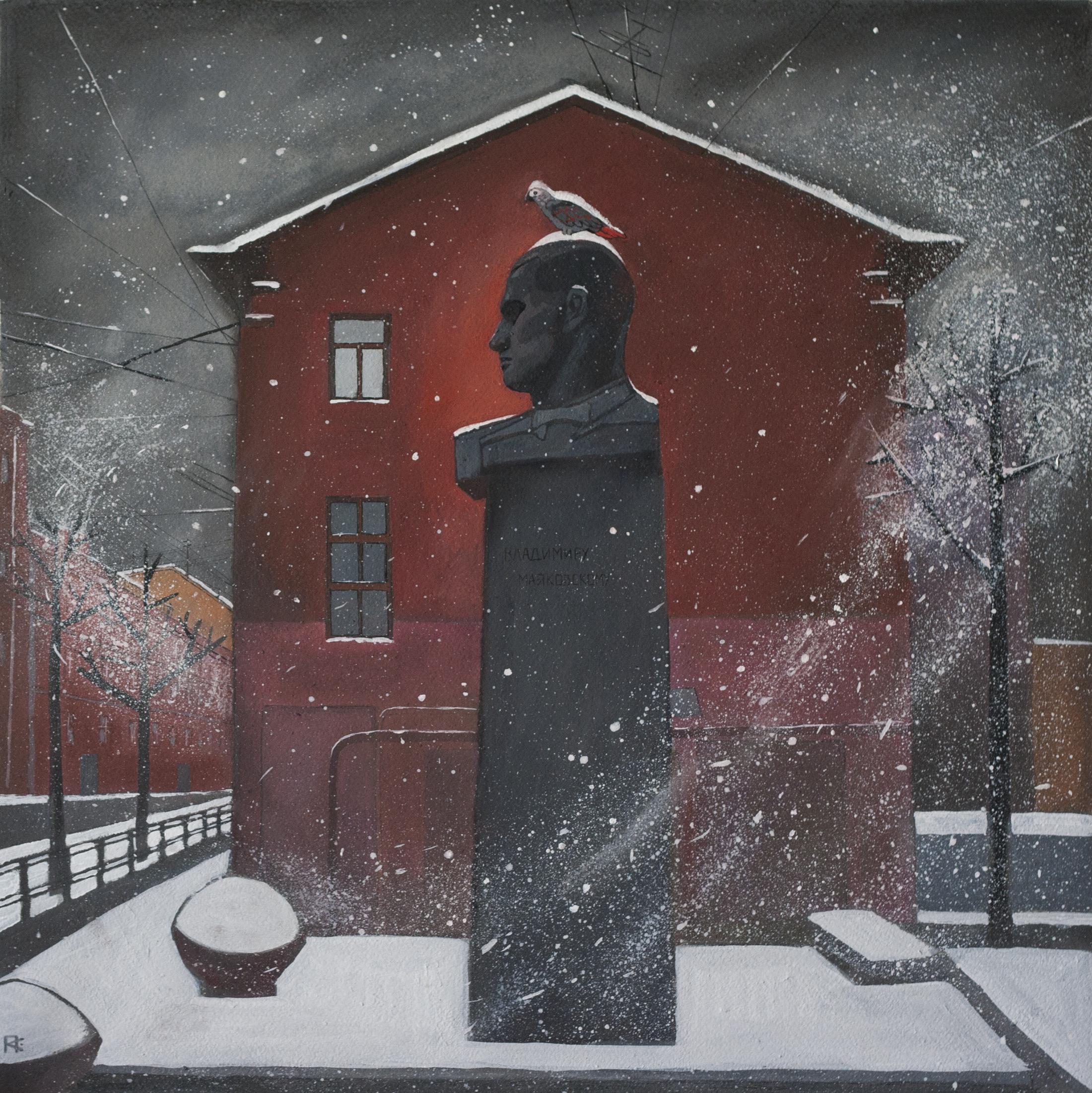Жако и Маяковский в Петербурге