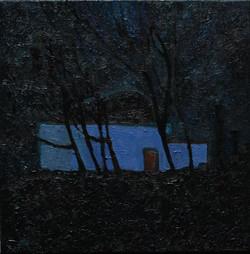 Пархоменко Ксения (Южный вечер) 2013 г. холст-масло, 40  на 40 см.jpg