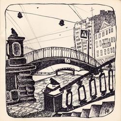 Питер, Сенной мост