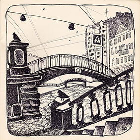 наброски скетчи зарисовки Ксения Пархоменко