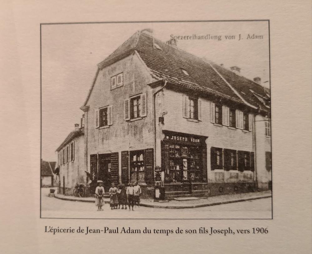 Epicerie Adam à Ingersheim