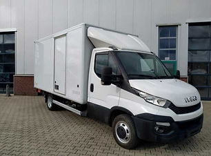 Iveco Daily 35C13 Koffer mit Ladebordwan