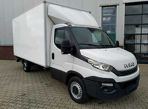 Iveco Daily 35S14 Koffer mit Ladebordwan