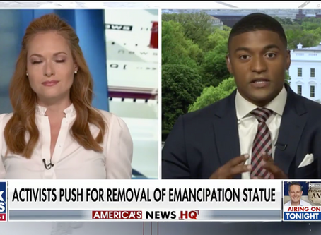 Activist suggests replacing DC's Emancipation Memorial with Harriet Tubman monument (FOX News)