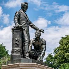 "MARCUS GOODWIN ON A MISSION IN D.C. TO TAKE DOWN STATUE OF ""THE EMANCIPATOR"" (The Source)"