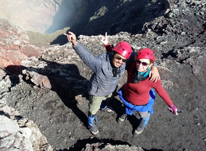 Top of Villarrica Volcano - Vagabond Journals