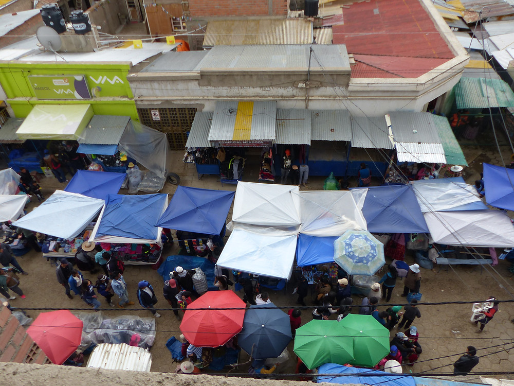 View from the top Oruro Carnaval 2018 - Vagabond Journals