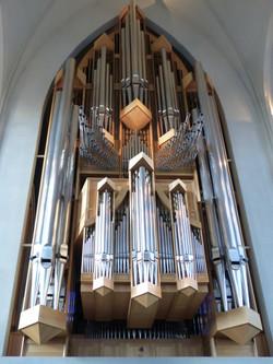 Organ Hallgrimskirkja, Reykjavik
