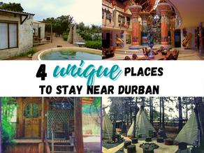 4 Unusual and unique places to stay near Durban