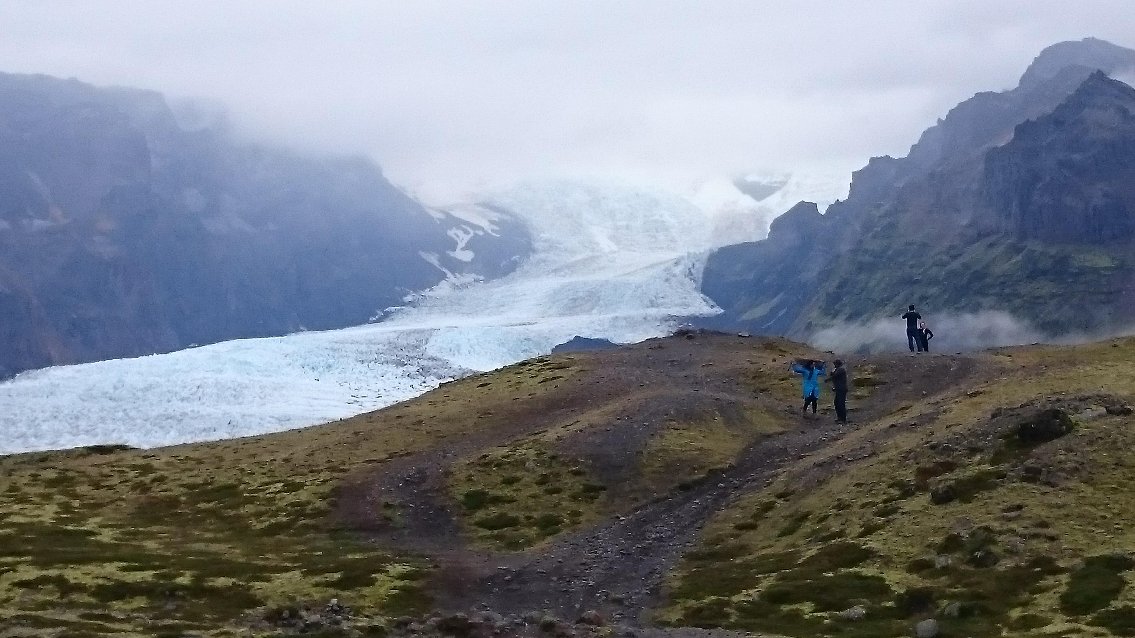 Solheimajokull Glacial Tongue