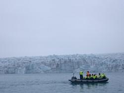 Zodiac Tour to the Glacier