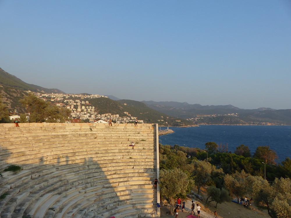 View from Antephelios Amphitheatre, Kas - Vagabond Journals